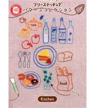 Clover Embroidery Stitching Kitchen Design