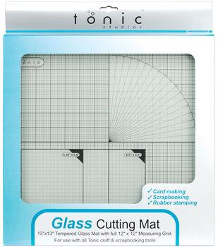 """Tempered Glass Cutting Mat-12""""X12"""""""