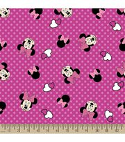 Disney® Minnie Mouse Print Fabric-Bows and Dots, , hi-res