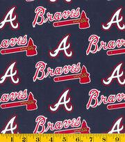 Atlanta Braves MLB Cotton Fabric, , hi-res