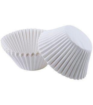 Wilton® Jumbo Baking Cups-White
