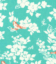 Keepsake Calico™ Cotton Fabric-Bird Garden Floral, , hi-res