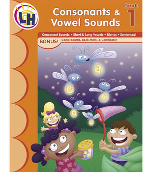 Busy Kids Learning Workbook-Consonants & Vowel Sounds