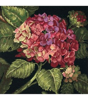 Dimensions Needlepoint Kit Hydrangea Bloom