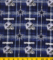 Dallas Cowboys NFL Flannel Fabric by Fabric Traditions, , hi-res