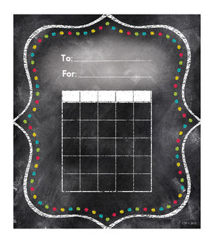 Chalk It Up! Dots Student Incentive Chart