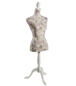 Linen Dressform-Spring In Paris