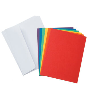 Core'dinations Card/Envelopes:  A2  Primary Assortment; 50 pack