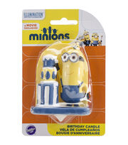 "Wilton® 3"" Birthday Candle-Minions, , hi-res"