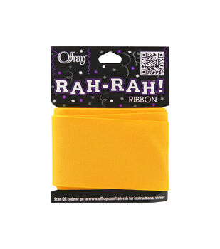 Rah Rah 2-1/4 inch Grosgrain Ribbon