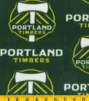Portland Timbers MLS Fleece Fabric, , hi-res