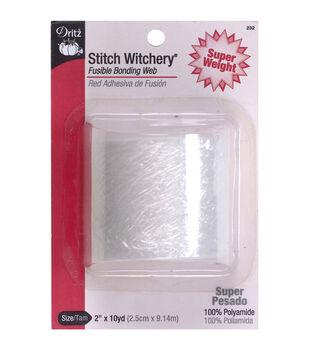 "Dritz® Stitch Witchery Super Weight Fusible Bonding Web 2""x10yds"