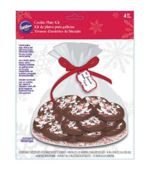 Wilton® Cookie Plate Kit Makes 4-PhotoReal Peppermint