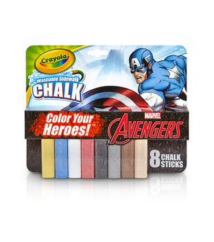 Crayola 8ct Sidewalk Chalk-Avengers