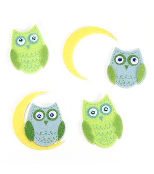 Felt Stickers Owls