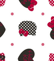 Hello Kitty Dots All Over Flannel, , hi-res