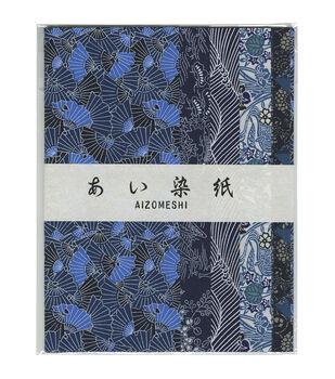 Aitoh Aizome Chiyogami Origami Paper 10.63''x15.38''