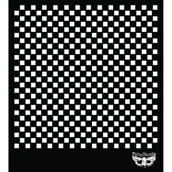 "Prima Marketing Sunrise Sunset Designer Stencil Checker 6"" x 6"""