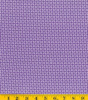 Stonehill Collection Cotton Fabric - Geo Purple Dark