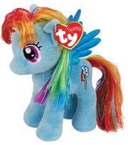 Ty Beanies My Little Rainbow Dash Blue, , hi-res