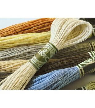DMC Linen Embroidery Floss 8.7 Yds