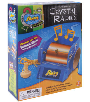 Slinky Crystal Radio Kit