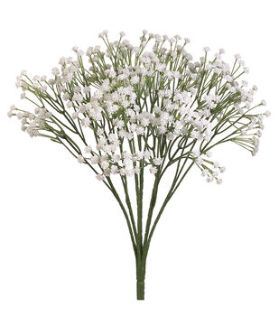 "Bloom Room 19"" Babys Breath Bush-White"