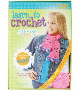 Learn To Crochet-Scarf