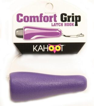 Comfort Grip Latch Hook-Purple