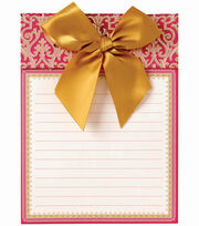 Anna Griffin Pink Note Pad, , hi-res