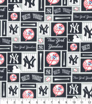 New York Yankees MLB Patch Cotton Fabric, , hi-res
