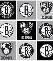 Brooklyn Nets NBA Block Fleece Fabric, , hi-res