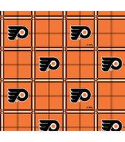 Philadelphia Flyers  NHL Plaid Flannel Fabric, , hi-res