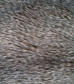 Luxury Faux Fur-Wolf Fur Fabric