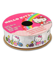 Hello Kitty Easter Ribbon-Solid White W Eggs, , hi-res