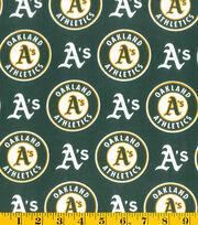 Oakland Athletics MLB Cotton Fabric, , hi-res