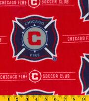 Chicago Fire Soccer Club MLS Fleece Fabric, , hi-res