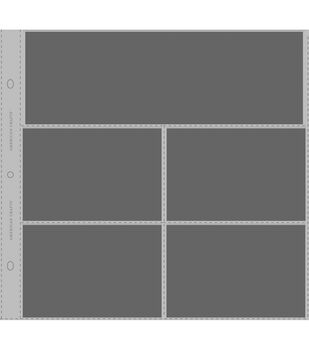 """Photo Protector Sleeves 12""""x12"""" 10/Pkg-For Postbound, D-Ring&3-Ring"""