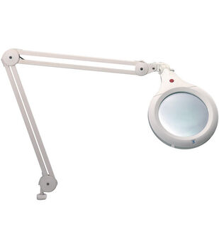 Daylight Ultra Slim Magnifying Lamp-White