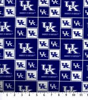 University of Kentucky NCAA  Cotton Fabric, , hi-res