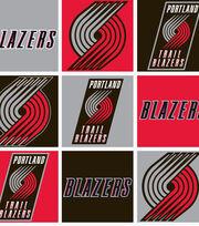 Portland Trailblazers NBA  Fleece Fabric, , hi-res