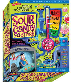 Scientific Explorers Sour Candy Factory Kit
