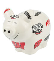 University of Wisconsin NCAA Piggy Bank, , hi-res