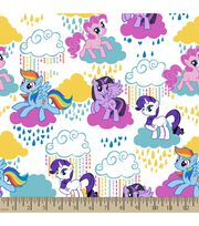 Hasbro® My Little Pony® Print Fabric-Pony Clouds, , hi-res