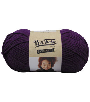 Big Twist™ Collection Chunky Yarn