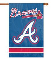 Atlanta Braves MLB Applique Banner Flag, , hi-res