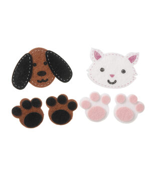 Stickers Dogs Cats w/Stitch, 24pc