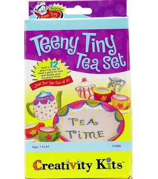 Creativity Kits-Teeny Tiny Tea Set
