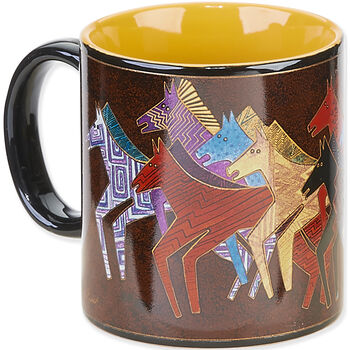 Laurel Burch Horses Mug