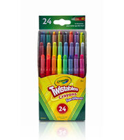 Crayola Twistables Fun Effects Crayons 24PK-Neon, Metallics, Rainbow, , hi-res